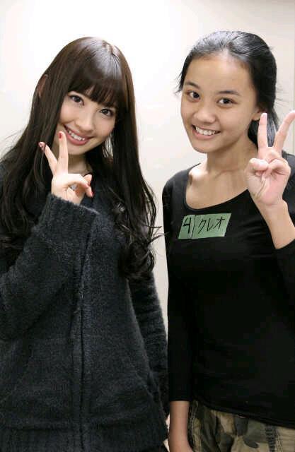 Cleo JKT48 and AKB 48 member