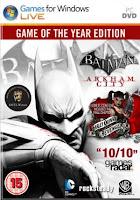 Free Download Batman Arkham City Game of the Year Edition