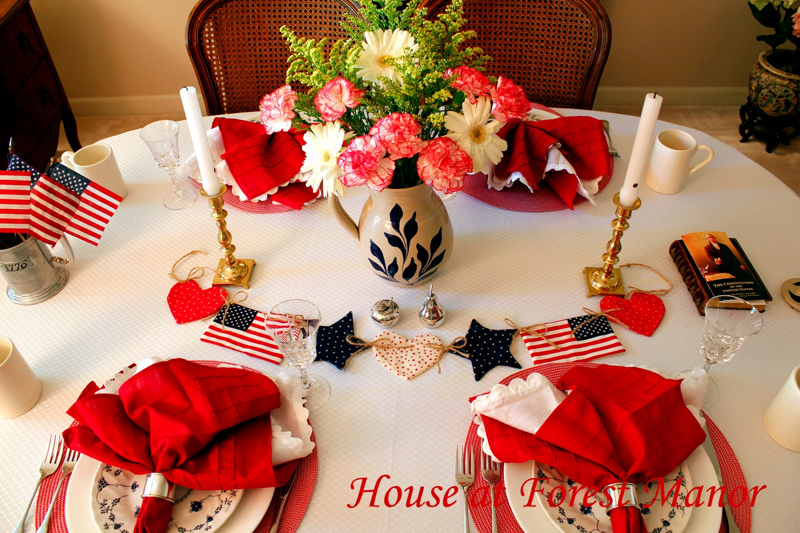 Fourth of July Tables