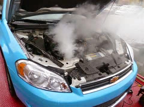 Overheating adalah suatu kondisi mesin tidak bisa bekerja dengan normal yang disebabkan oleh temperatur kerja mesin berada di atas suhu normal mesin kendaraan.