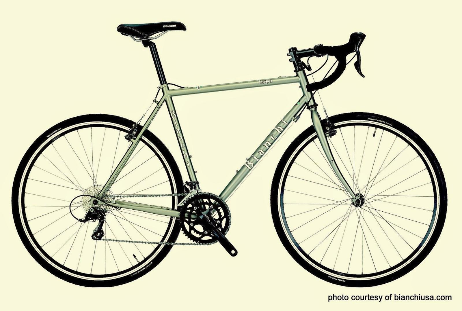bianchi lupo, commuter, gravel, cyclocross, touring, trekking, adventure