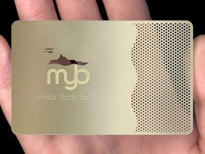 tarjetas de presentacion metalicas