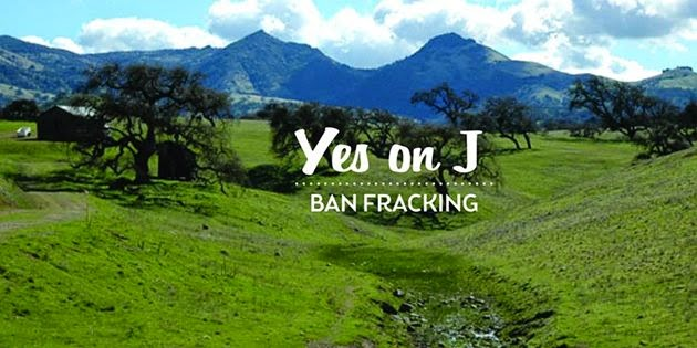 Yes on J: Ban Fracking