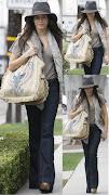 Jenna Dewan shopping on Robertson. Tis the season for shopping!