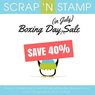 Scrap 'N Stamp Sale!