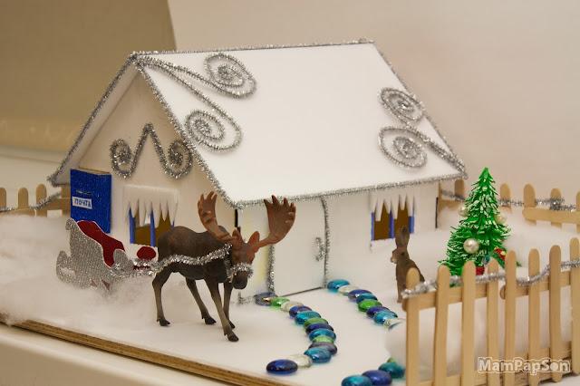 Дом Деда Мороза своими руками