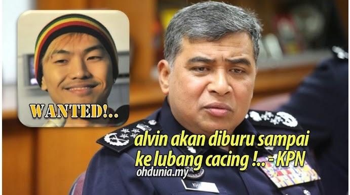 Blogger Alvin Tan Akan Terus Diburu Hingga Ke Lubang Cacing - KPN