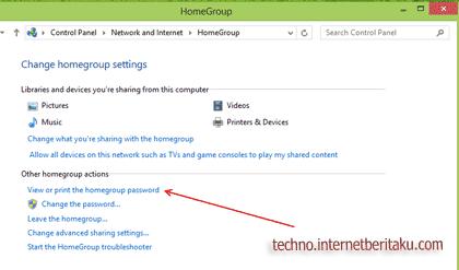 homegroup windows 8 screen