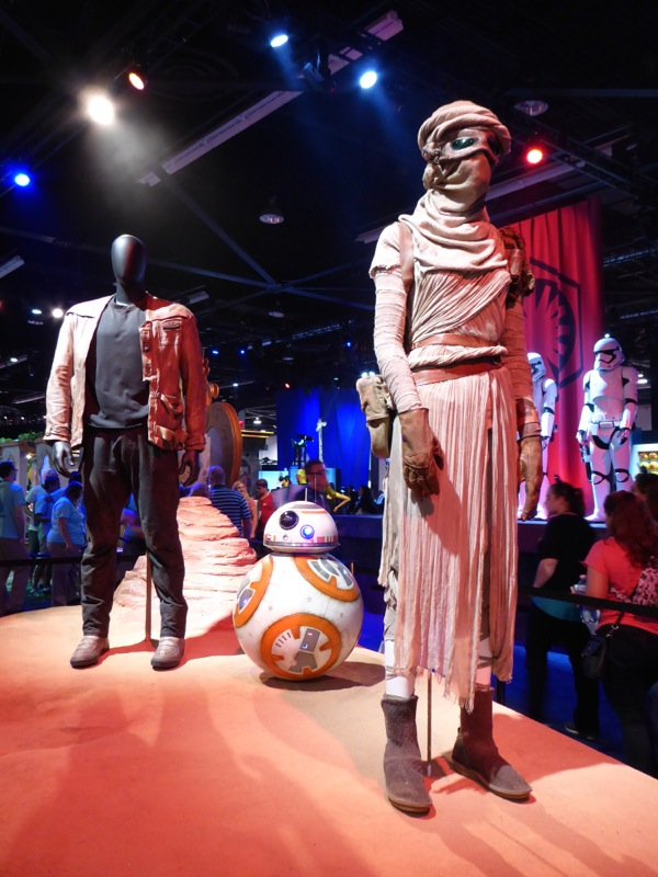 Original Star Wars The Force Awakens movie costumes