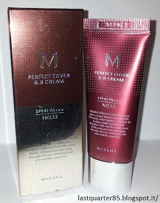 Missha Perfect Cover BB Cream n° 13.
