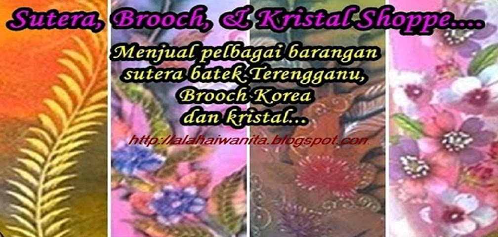 Sutera, Brooch, Kristal shoppe...