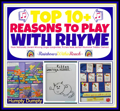 photo of: Top 10+ Reasons to PLAY with Rhyme: KBN Top 10 Series at RainbowsWithinReach