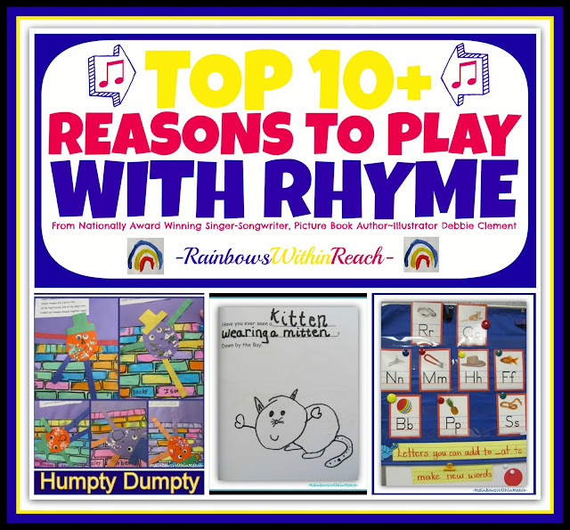 Top 10+ Reasons to PLAY with Rhyme: KBN Top 10 Series at RainbowsWithinReach