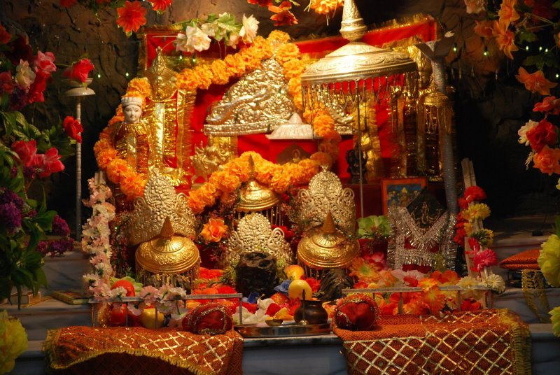 Maa Vaishno Devi Holy Shrine Pindi Darshan