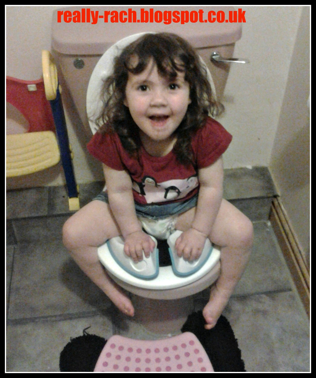 Potty Training Update and Pourty Flexi-Fit Toilet Trainer Review