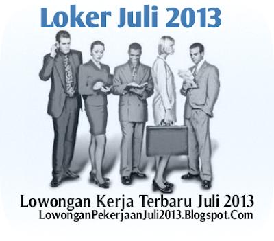 Lowongan Kerja untuk Pria dan Wanita Lulusan SMA, SMK, D3 di Jakarta Juli 2013