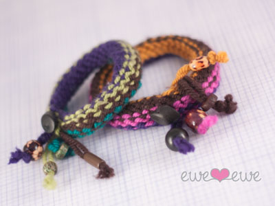 Knitted Wire Jewelry - Knitting - Learn to Knit - Knitting Patterns