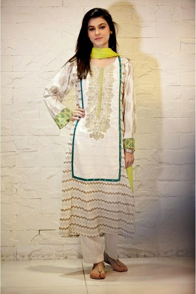 Maria-B Embroidered Cotton Dresses