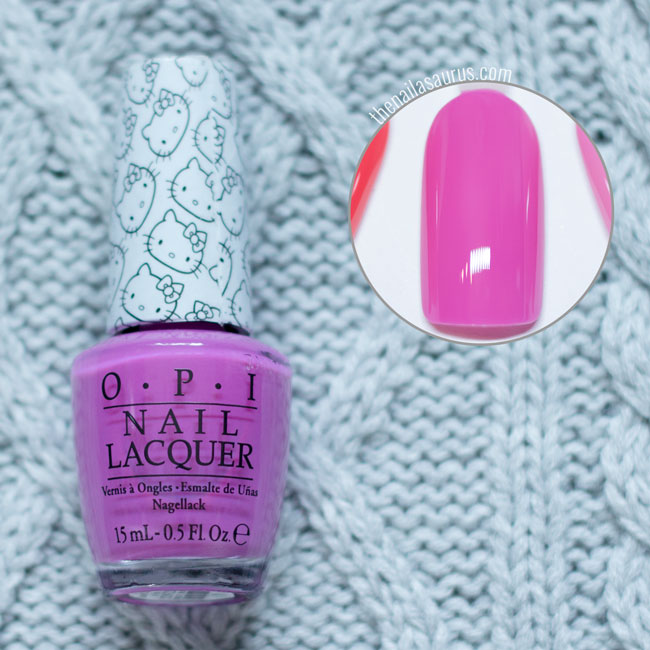 OPI Hello Kitty - Super Cute in Pink