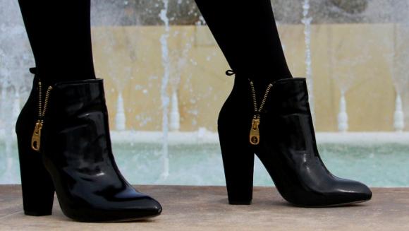 botines de zara