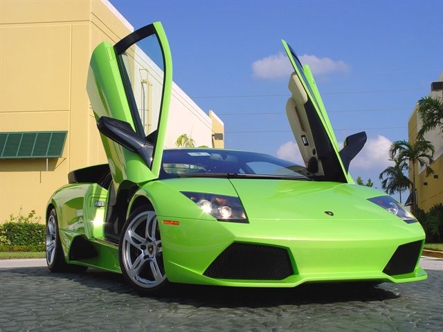 Hd-Car wallpapers: lamborghini gallardo green