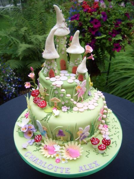 Torte Mit Feen Für Einen Mädchengeburtstag Bunt Lecker Kreativ