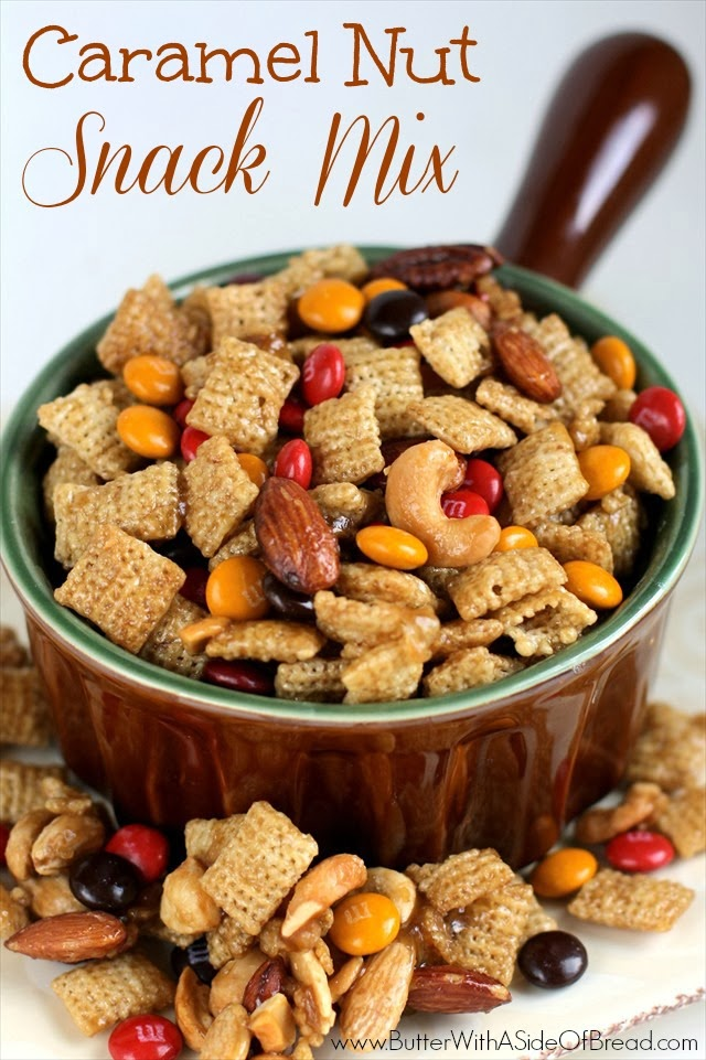 Caramel Nut Snack Mix