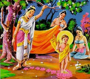 Kumpulan Materi Agama Buddha Riwayat Hidup Pangeran Siddharta