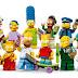 Personagens dos Simpsons em Versão Lego