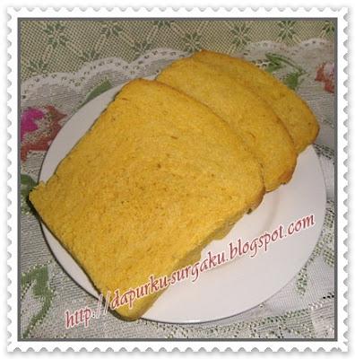 Olahan Labu Kuning, olahan Waluh, Roti Tawar Labu Kuning, Roti Panggang