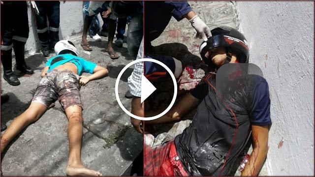 [VÍDEO] Suposto policial mata dupla durante assalto em Aracaju