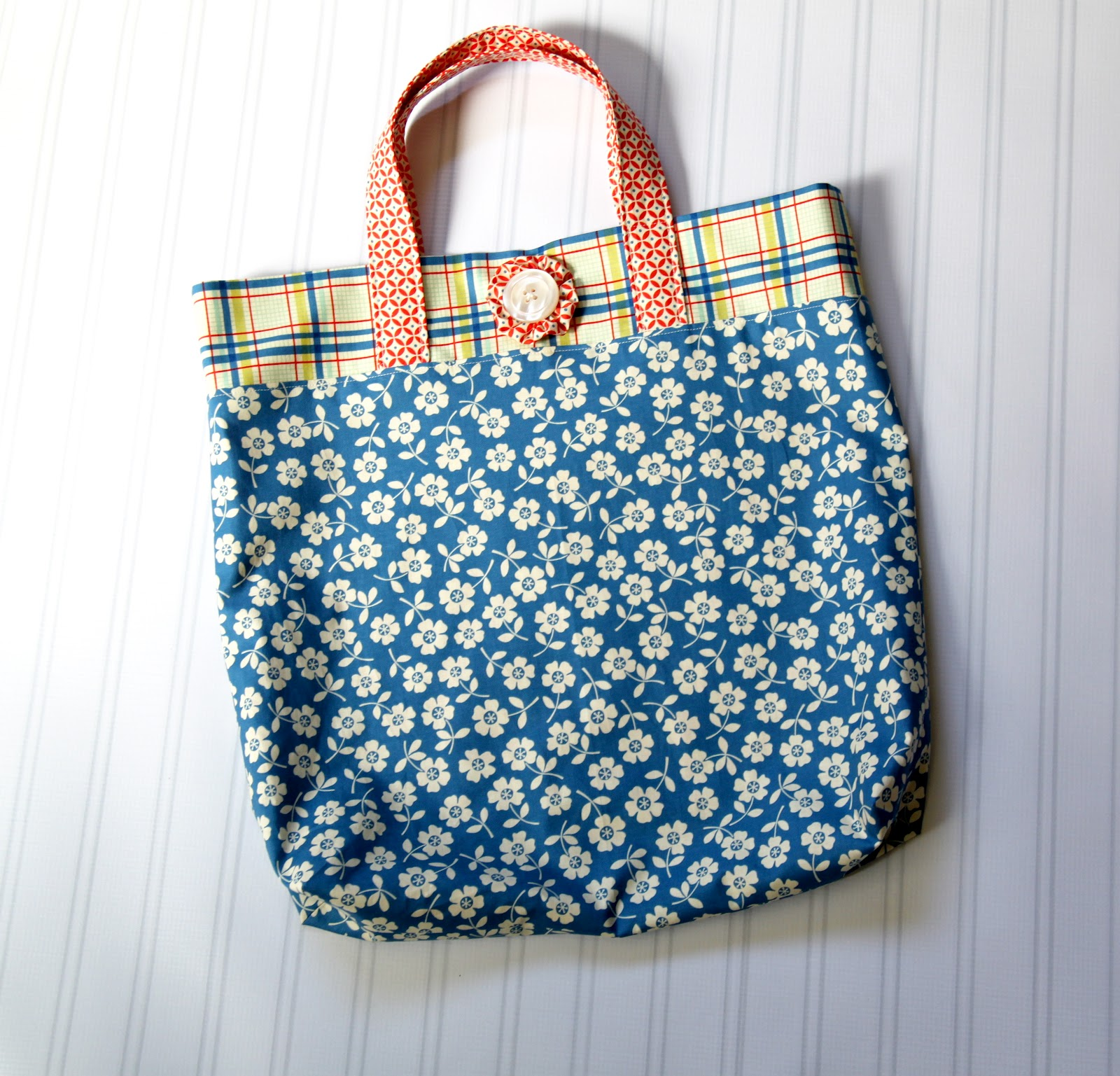 how to make a tote bag tutorial