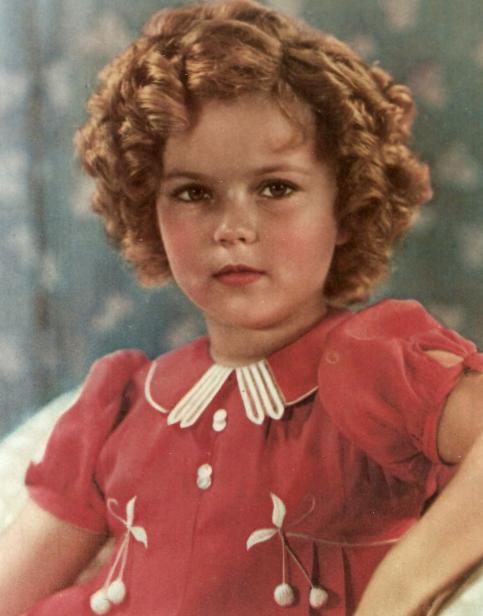 Mrs Button S Vintage Corner Goodbye Shirley Temple