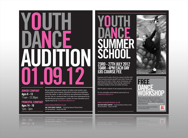 One Youth Dance Leaflet Design Tips, Cheap Leaflet printing, creative
