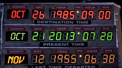 Back to the future day - October 21st 2013