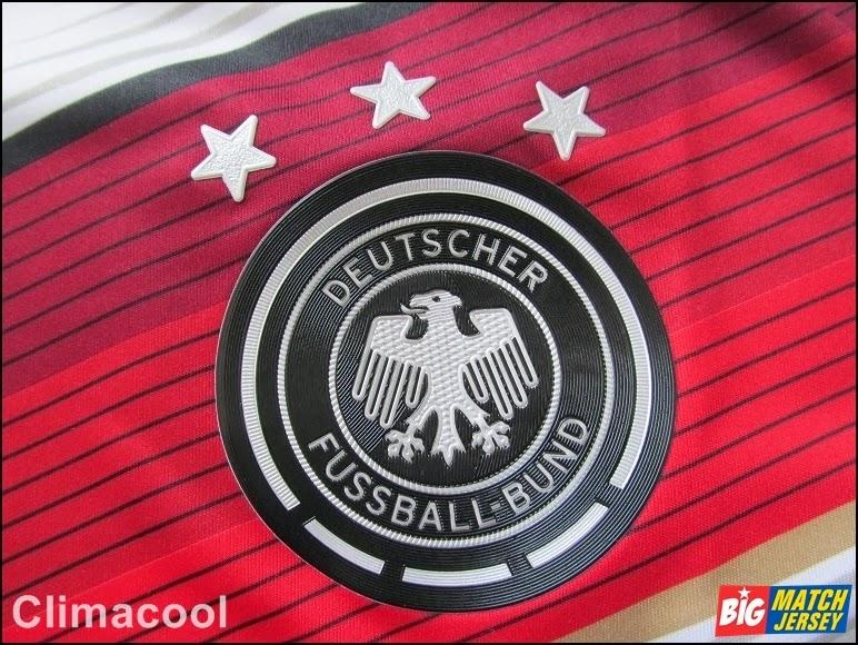 Logo Emblem Bordir Atau Plastik Club Pada Jersey Climacool Fifa World Cup 2014