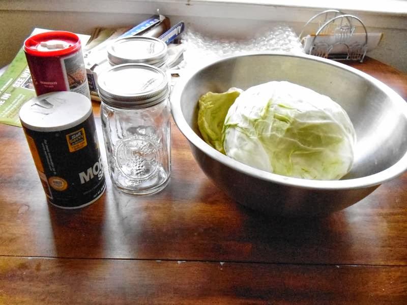Sauerkraut materials