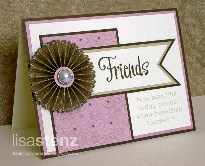 Exceptional How To Make Friendship Cards Part - 5: Lisau0027s Creative Corner - Blogger