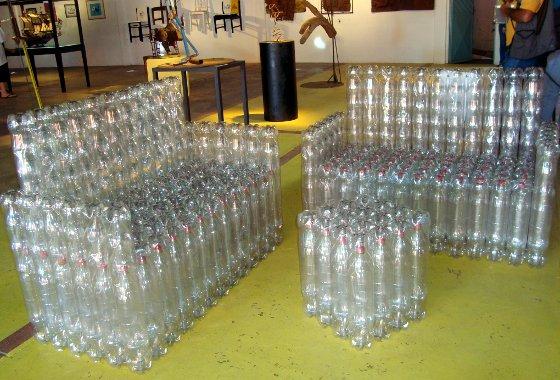 Для дачи из пластиковой бутылки