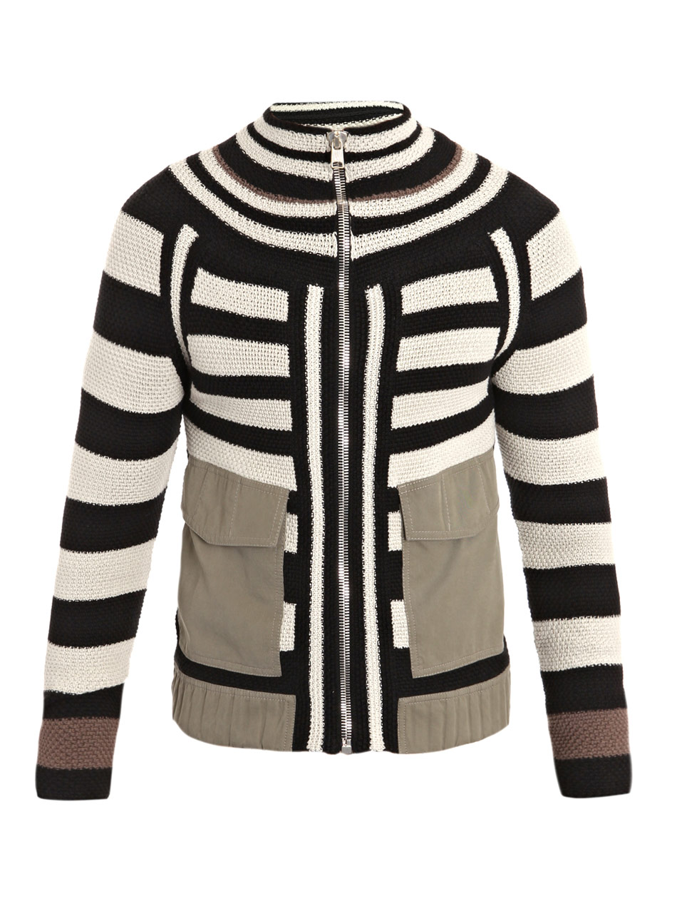00o00 menswear blogger london alexander mcqueen striped patchwork cardigan roger federer SS2012 spring summer 2012 old bond street london shopping