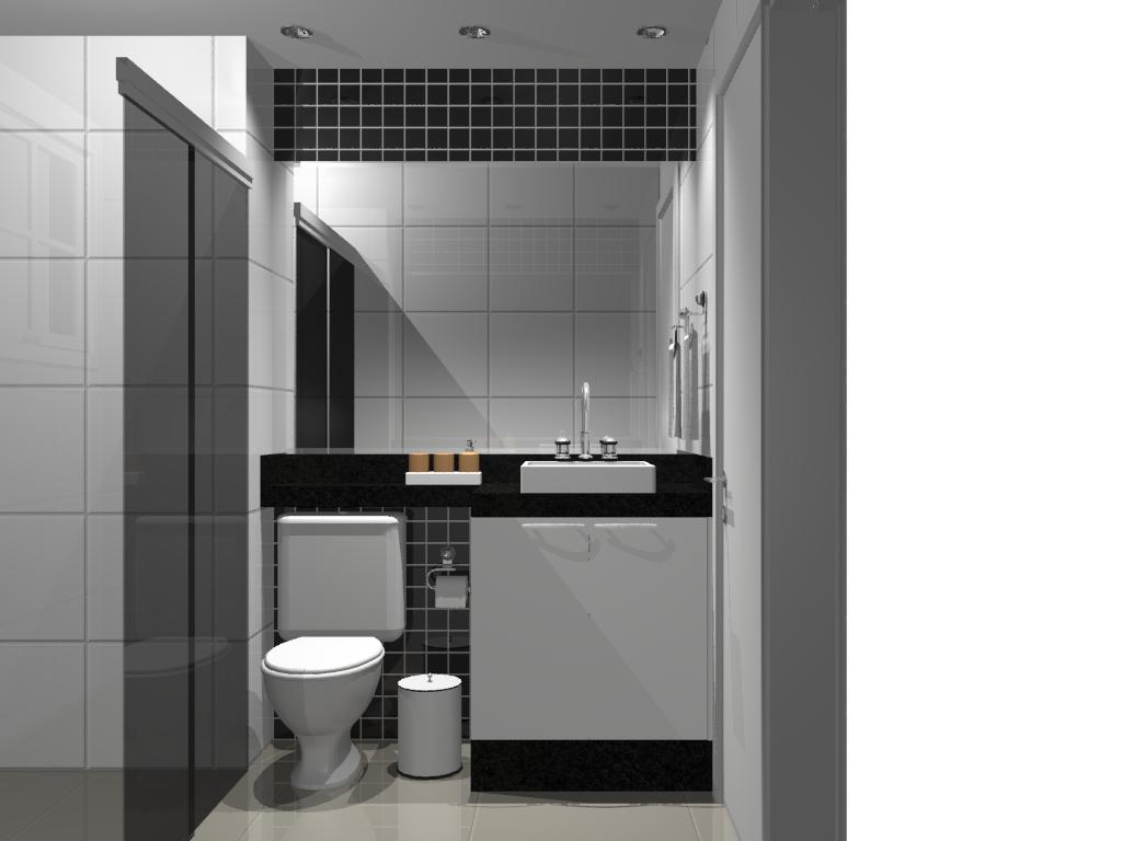 pia como na foto. (quero esta cor preto cinza e branco eu acho rsrs #645C4F 1024x768 Banheiro Branco Preto E Cinza