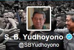 Akun Twitter Presdien SBY di Kelola Tim Presdien