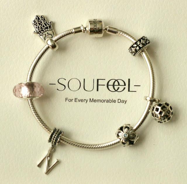 soufeel jewelry 925 sterling silver charm bracelet