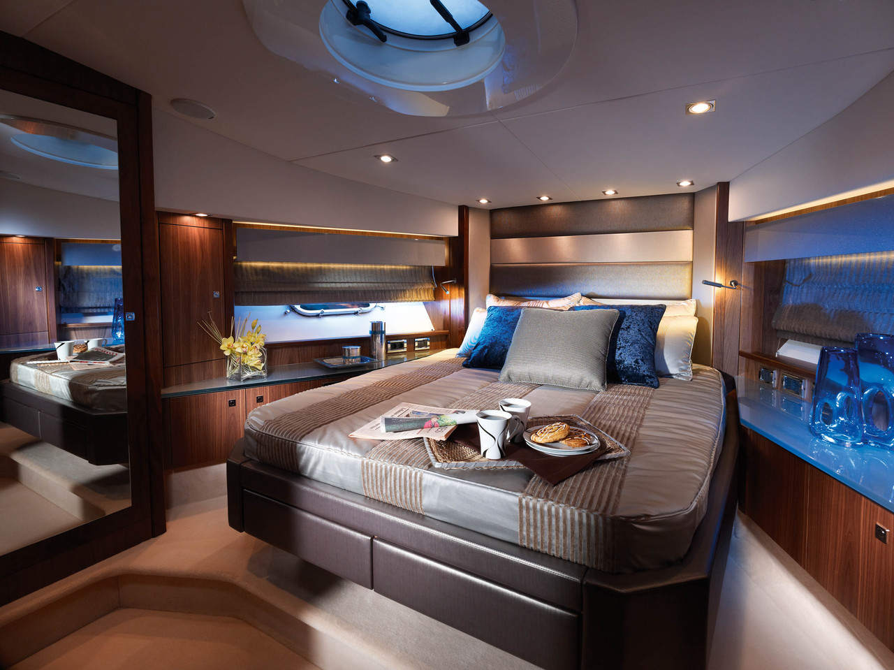 Luxury Yacht Bedroom