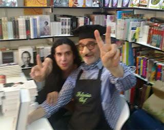 Falsarius con Mario Vaquerizo