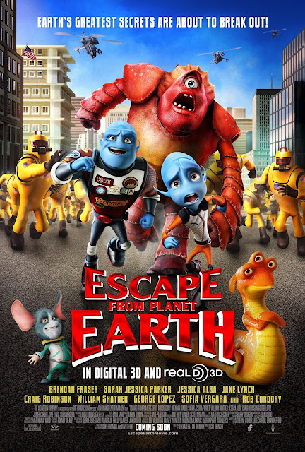 Mom and Me Review: Escape From Planet Earth (Movie Review) | A Little Bite of Life