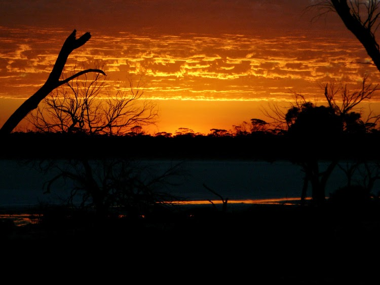 Sunset at Hyden Australia