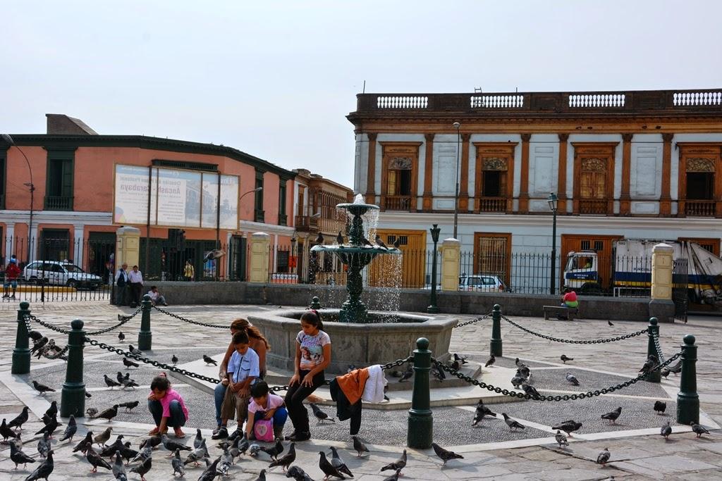 San Francisco Monastery Lima square
