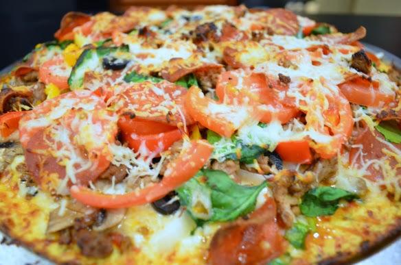 Cauliflower Pizza Crust, www.HealthyFitFocused.com