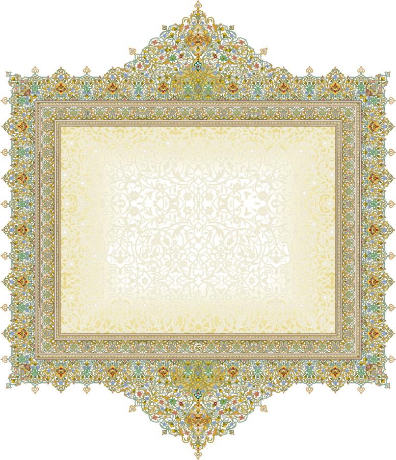 緻密な美しさのレース パターン フレーム beautiful classical pattern lace イラスト素材1